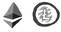 litecoin and ether